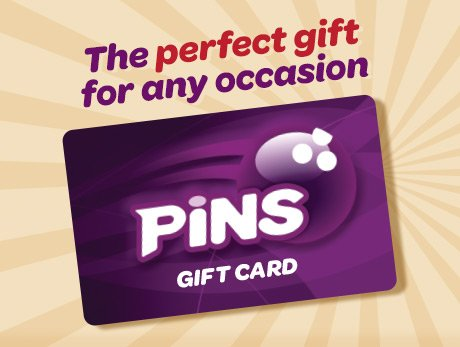 PINS Gift Cards