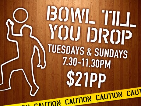 Bowl till you drop